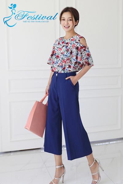 Mix áo sơ mi hở vai - Ảnh 1 - Thời trang công sở