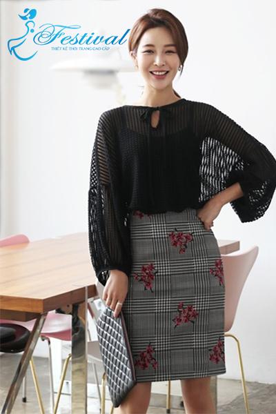 Mix áo sơ mi cổ mềm - Ảnh 1 - Thời trang công sở