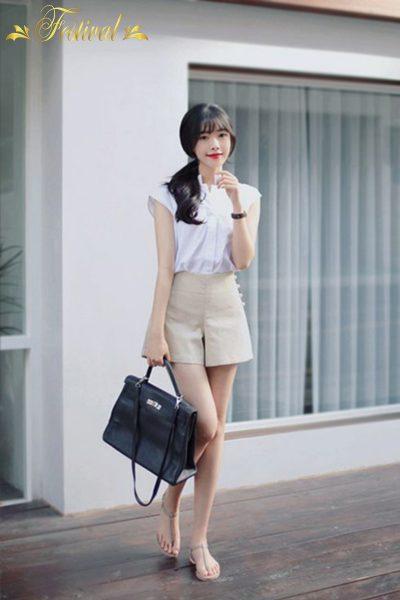 Mix quần váy xinh xắn