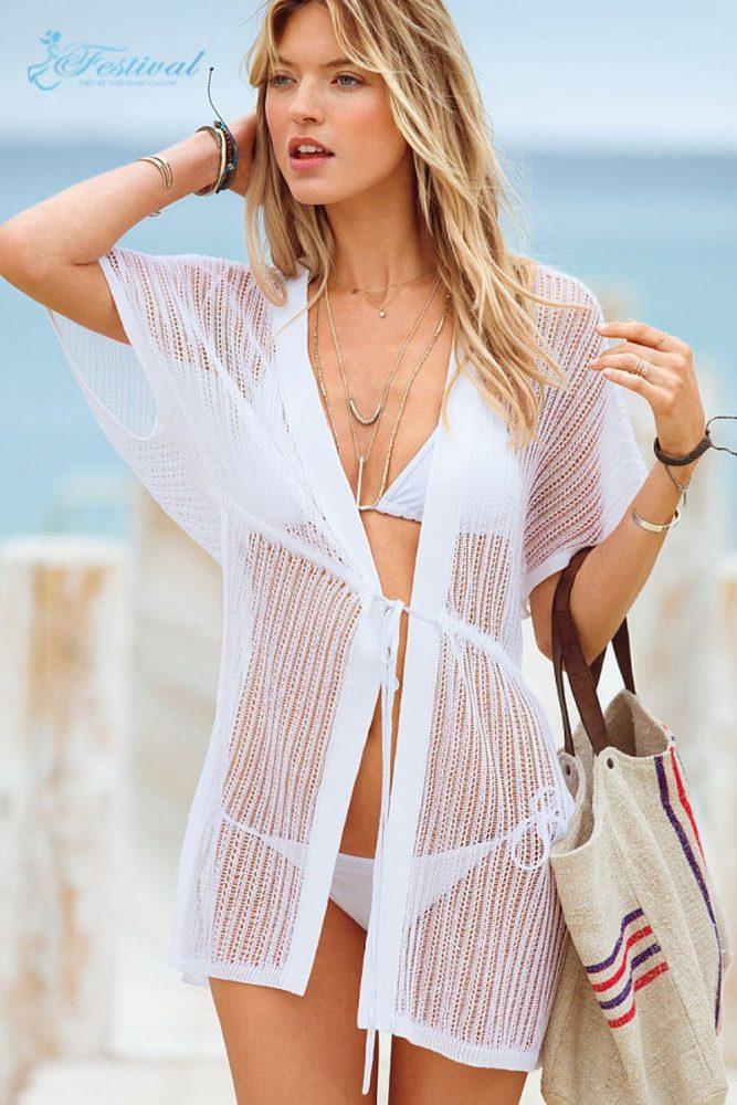 Áo khoác đi biển - Trang phục đi biển