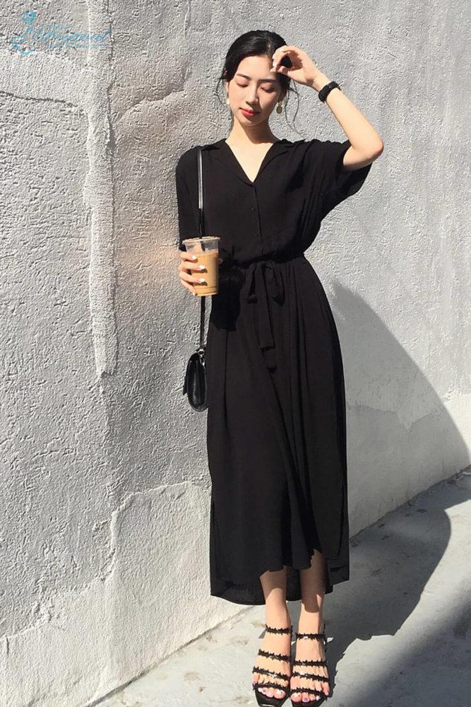 Váy liền (Hay còn gọi là đầm) - Mix Đồ Công Sở Mùa Thu 2018 - Ảnh 2