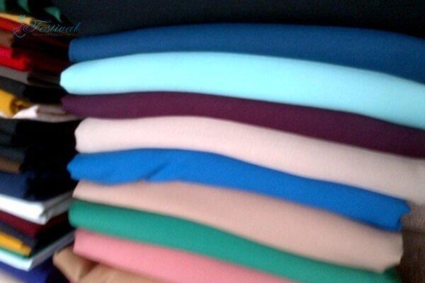 Vải tuýt xi may quần áo công sở nữ đẹp - Ảnh 1