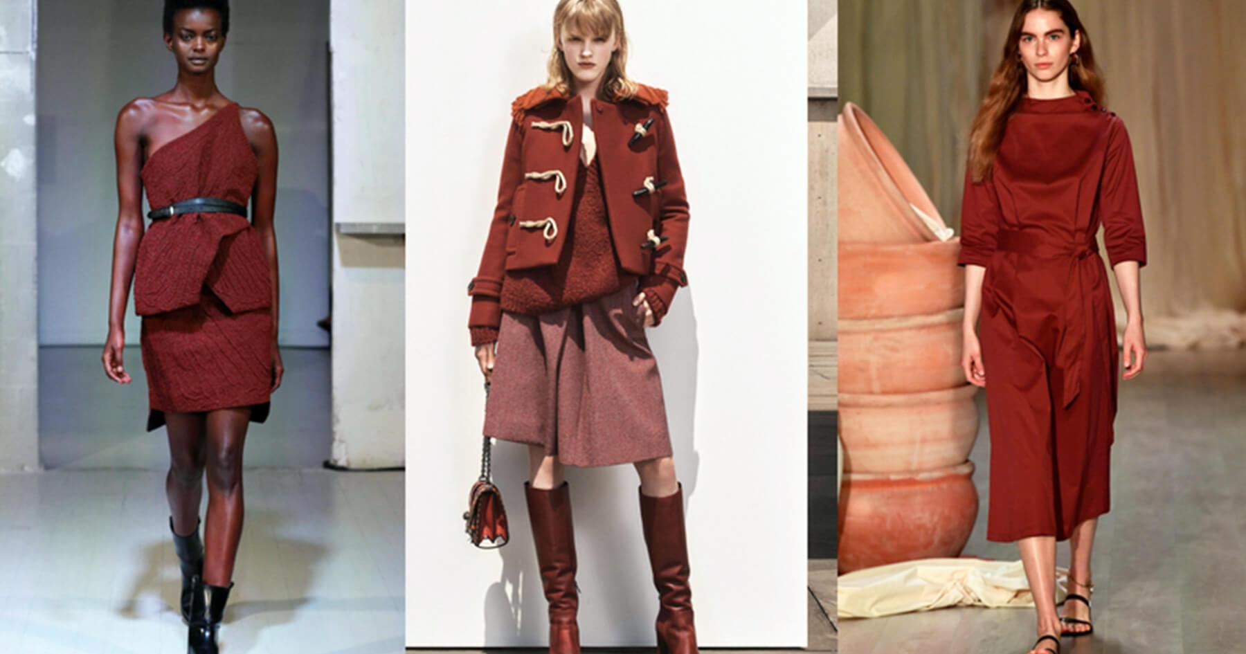 Đỏ auburn - Xu hướng sắc màu thời trang 2019