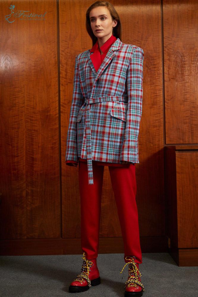 Họa tiết checkered - Ảnh 1 - Xu hướng họa tiết thời trang 2019