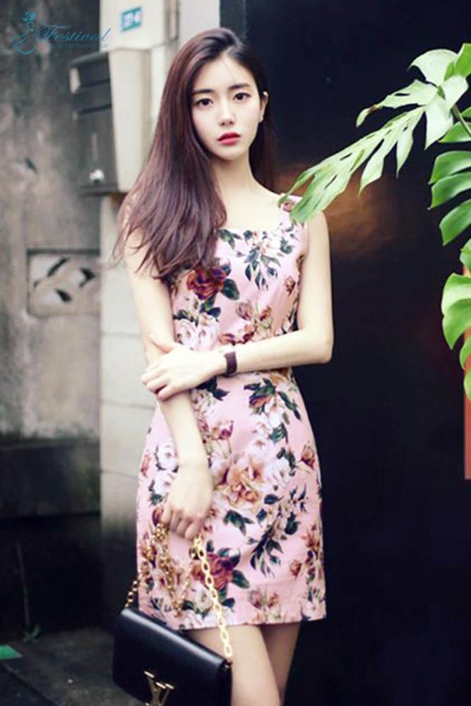 Những kiểu váy hoa khiến nàng công sở lãng mạn trong mùa thu - Ảnh 9