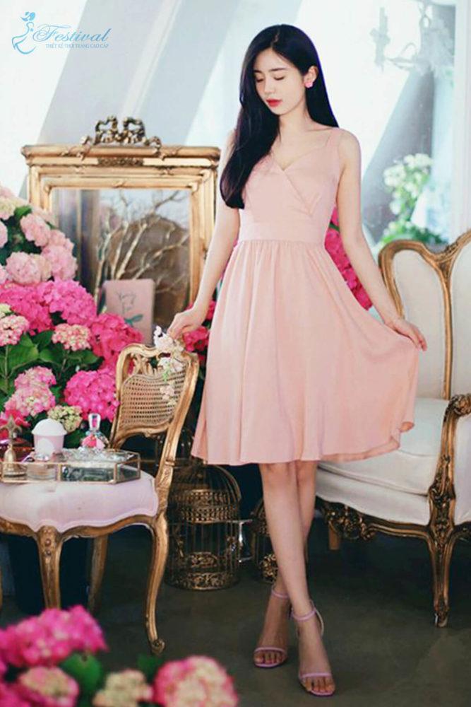 Những kiểu váy hồng nữ tính, ngọt ngào cho phái đẹp - Ảnh 10