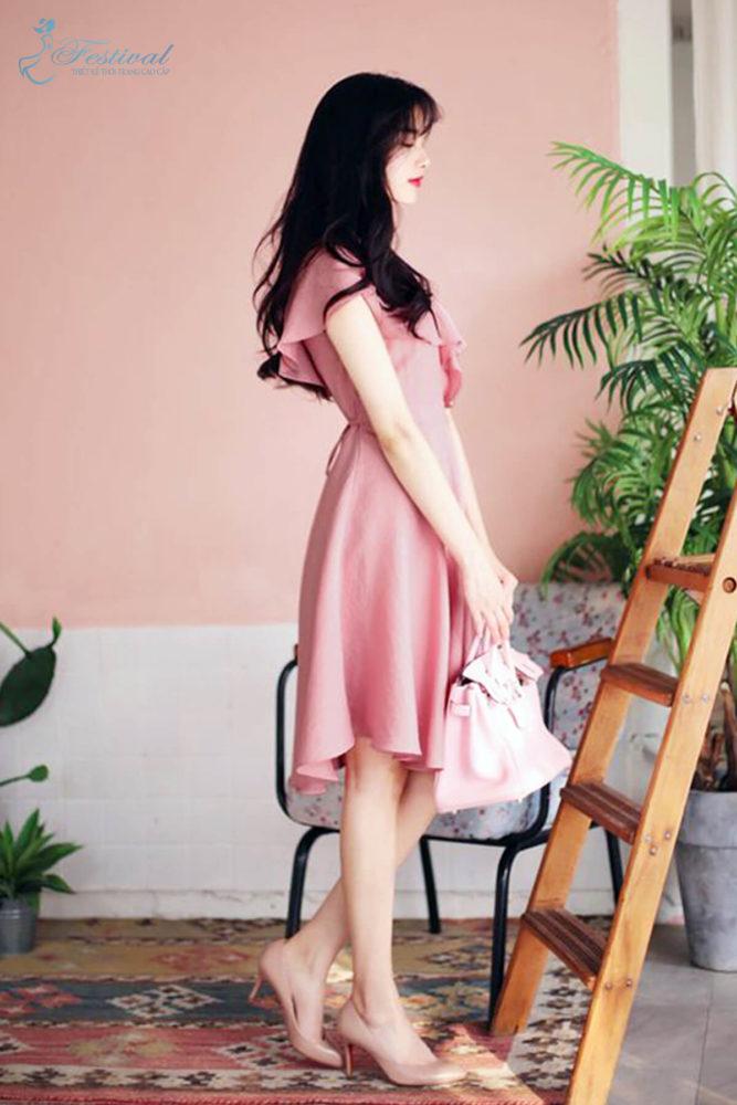 Những kiểu váy hồng nữ tính, ngọt ngào cho phái đẹp - Ảnh 2