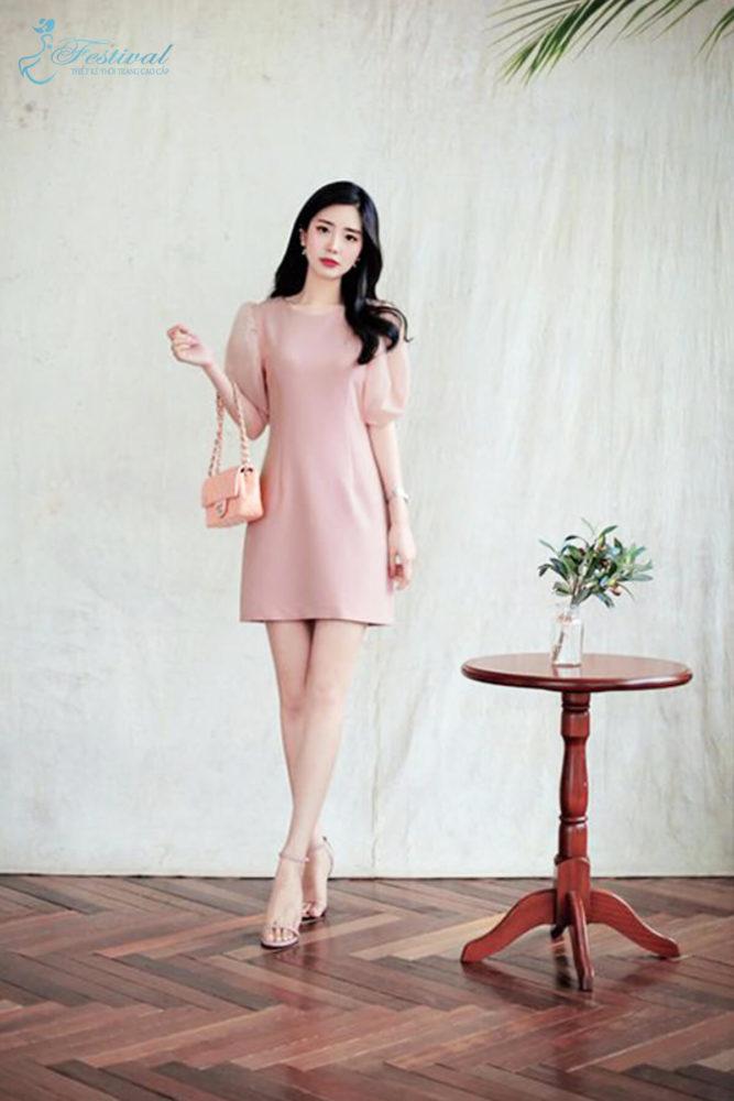Những kiểu váy hồng nữ tính, ngọt ngào cho phái đẹp - Ảnh 5