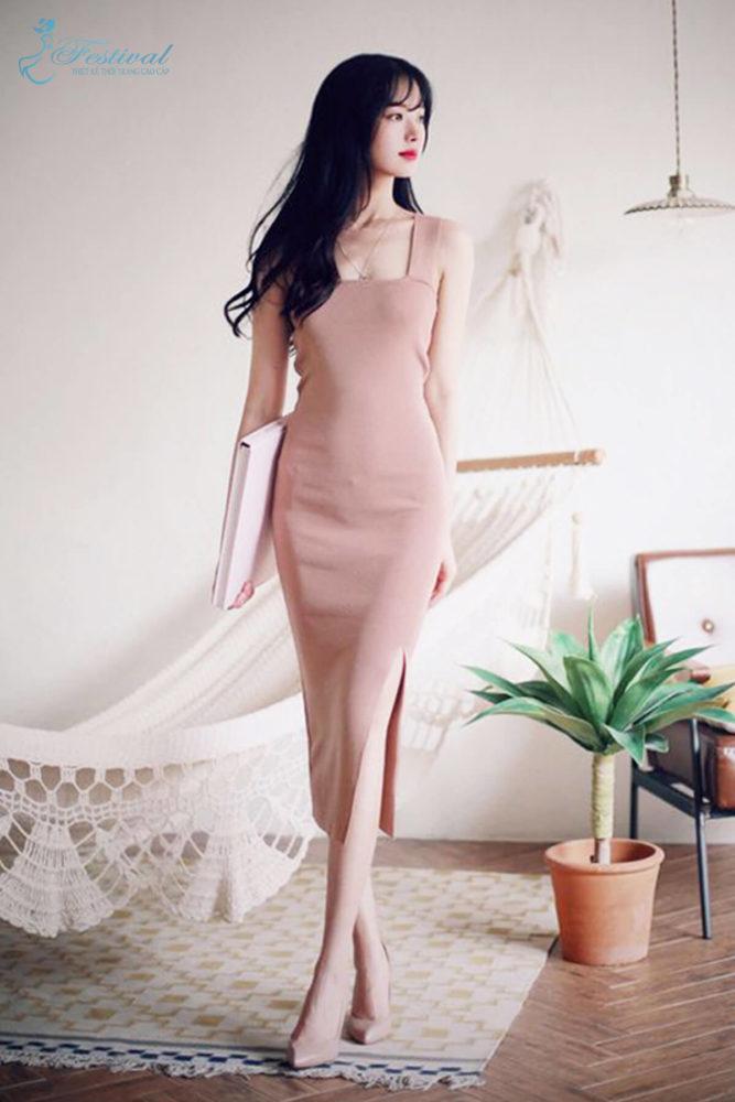Những kiểu váy hồng nữ tính, ngọt ngào cho phái đẹp - Ảnh 8