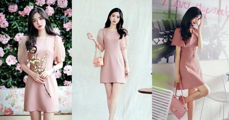 Những kiểu váy hồng nữ tính, ngọt ngào cho phái đẹp