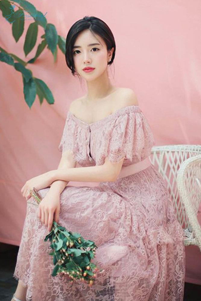 Những kiểu váy hồng nữ tính, ngọt ngào cho phái đẹp - Ảnh 9