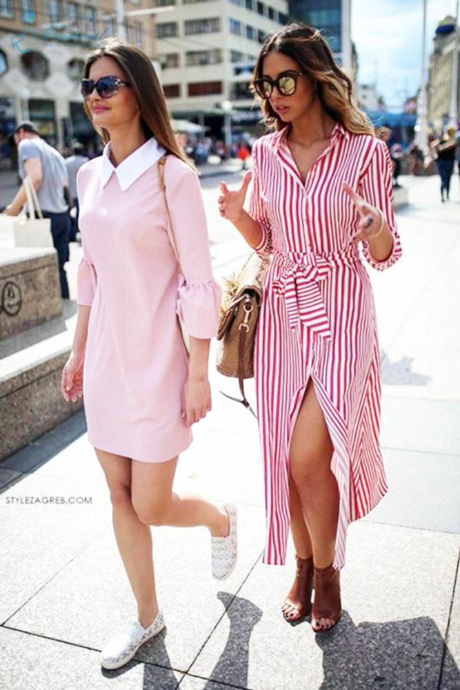 Những kiểu váy sơ mi dáng rộng mặc vào cuối tuần - Ảnh 10