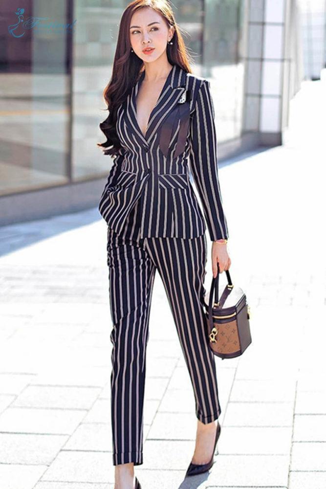 Suit phối vest hiện đại - Ảnh 3 - Thời trang dạo phố thu đông 2018