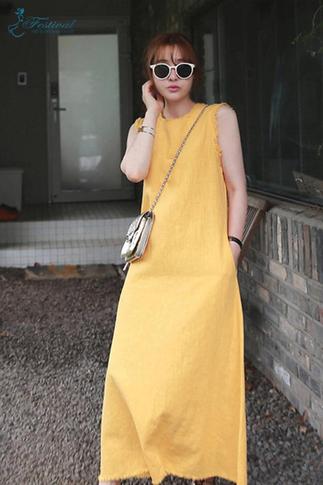 Trang phục mùa thu: Sắc vàng được phái nữ yêu chuộng - Ảnh 7