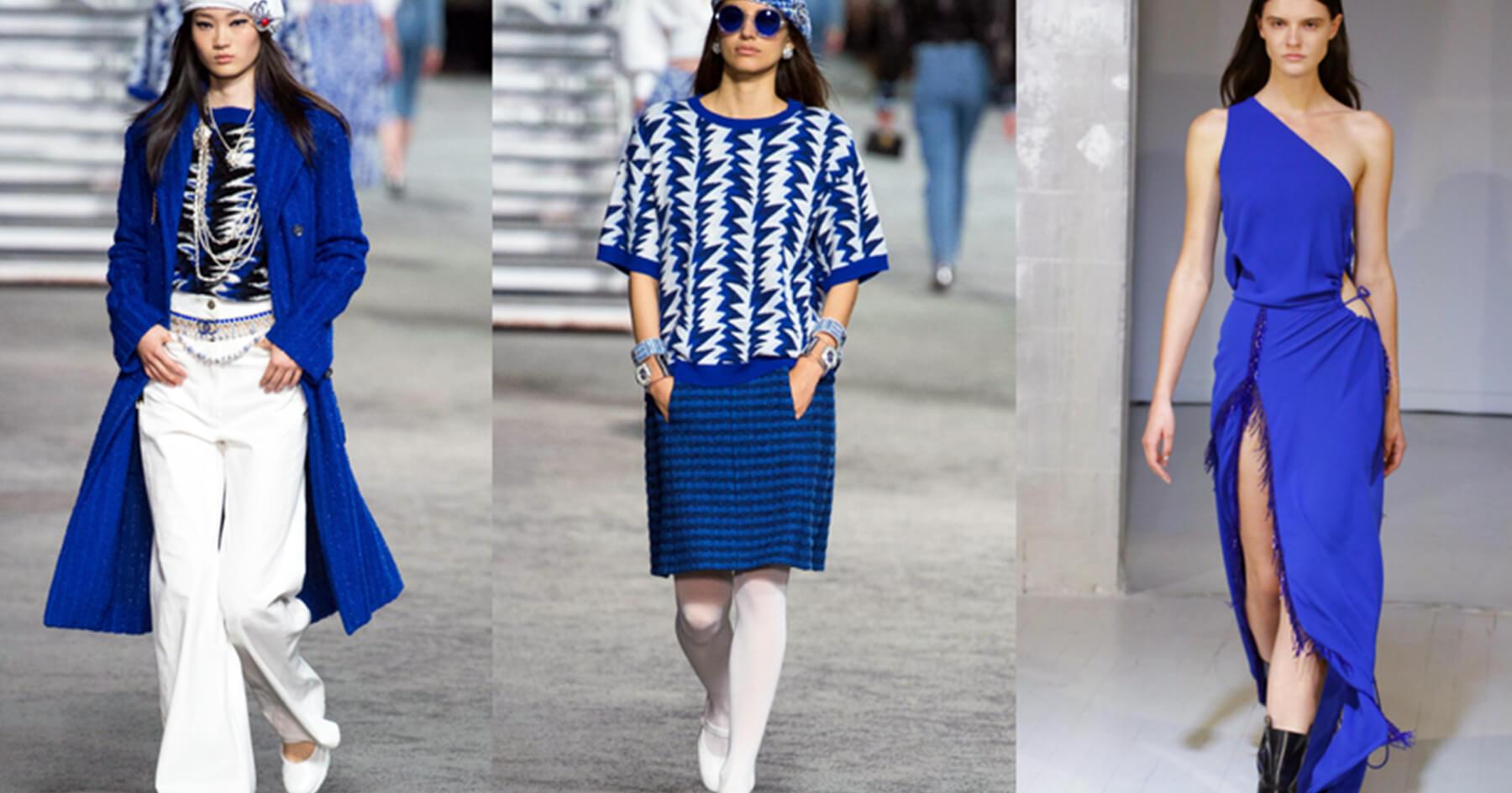 Xanh ai cập - Xu hướng sắc màu thời trang 2019