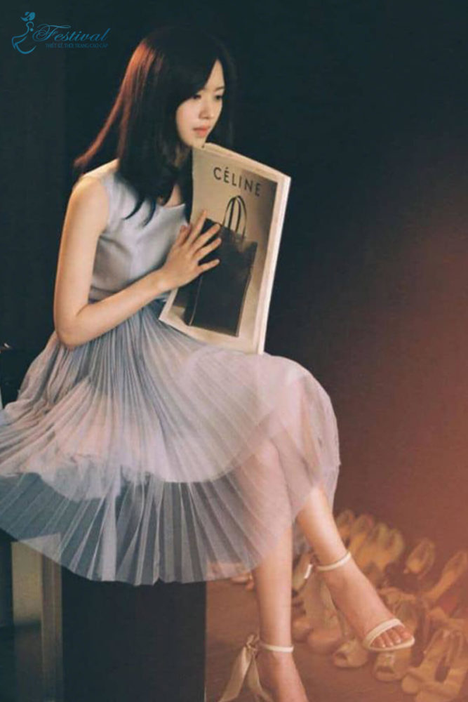 Kiểu váy voan cũng là xu hướng cho những nàng điệu đà được nhiều chị em yêu thích nhất là ở Hàn Quốc.