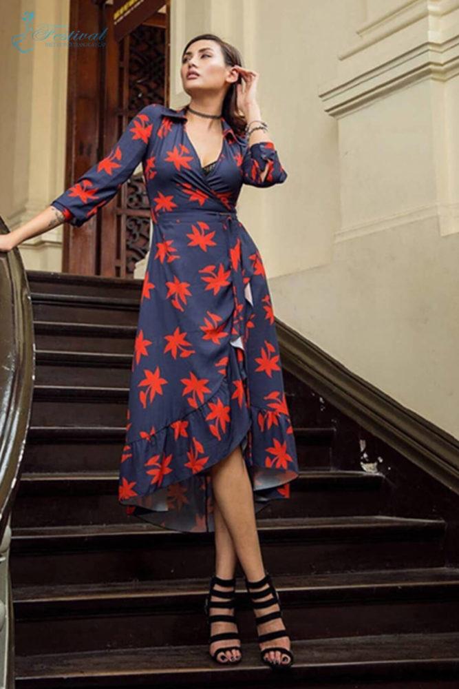 Là một siêu mẫu chuộng phong cách cá tính và sexy, nhưng Võ Hoàng Yến cũng không ngừng làm mới hình ảnh bằng việc cập nhật các kiểu váy áo hợp mốt.