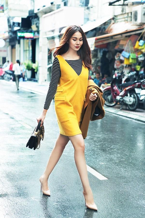 Sắc đỏ - vàng - Ảnh 3 - 5 Kiểu váy đầm cứ tết lại cháy hàng, nàng nào cũng nên thủ sẵn vài cái