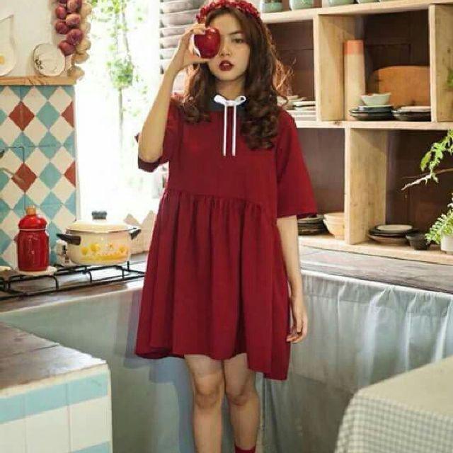 Sắc đỏ - vàng - Ảnh 2 - 5 Kiểu váy đầm cứ tết lại cháy hàng, nàng nào cũng nên thủ sẵn vài cái