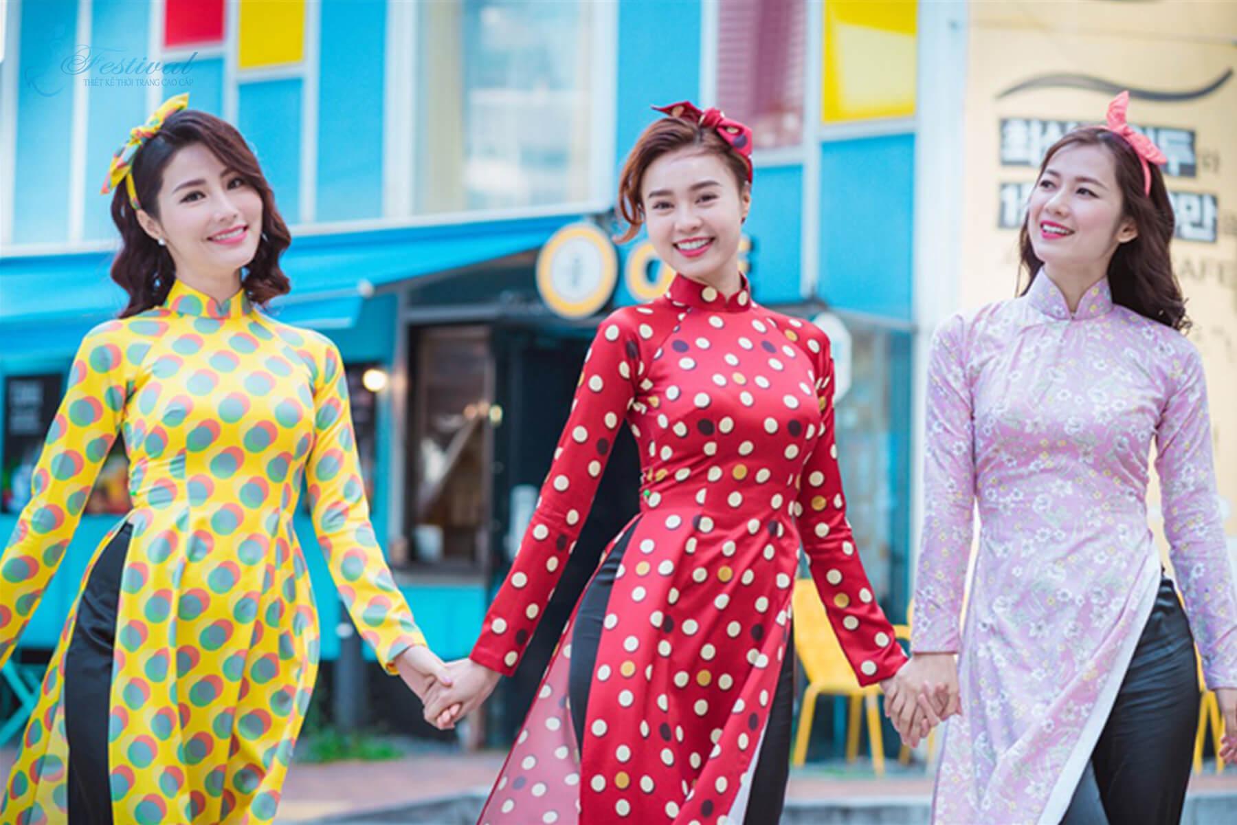 Áo dài cô ba sài gòn - Xu hướng thời trang Tết 2019 dành cho phái nữ