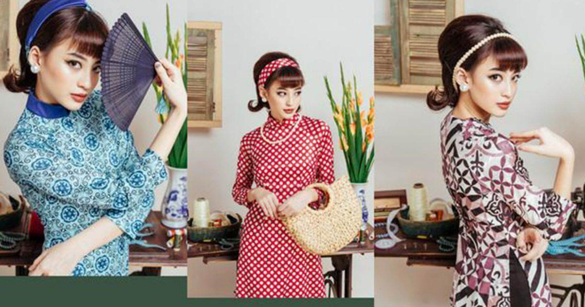 Áo dài mini raglan - Xu hướng thời trang Tết 2019 dành cho phái nữ