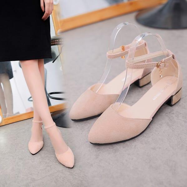 Giày cao gót thấp - Xu hướng thời trang Tết 2019 dành cho phái nữ