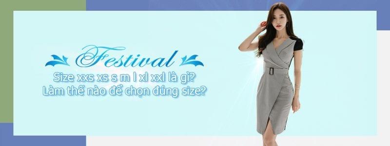 Size xxs xs s m l xl xxl là gì? Làm thế nào để chọn đúng size