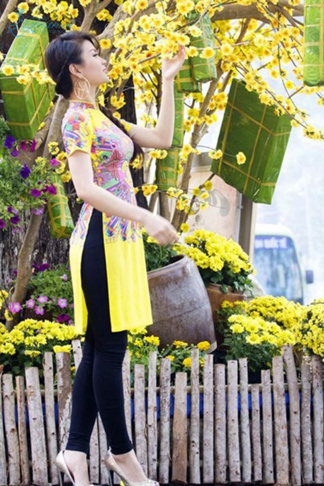 Màu sắc thời trang vàng - Ảnh 3 - Xu hướng thời trang Tết 2019 dành cho phái nữ