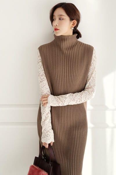 Layer váy liền và áo - Ảnh 4 - 3 ngày Tết, các nàng cứ mặc 6 combo này là đảm bảo xinh lung linh
