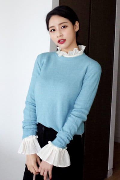 Layer áo len/áo nỉ và áo điệu - Ảnh 5 - 3 ngày Tết, các nàng cứ mặc 6 combo này là đảm bảo xinh lung linh