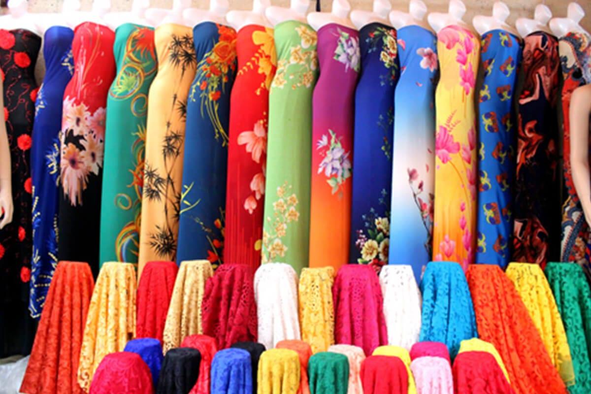 Vải ren cao cấp - Khảo sát giá vải may áo dài ngày Tết Nguyên Đán