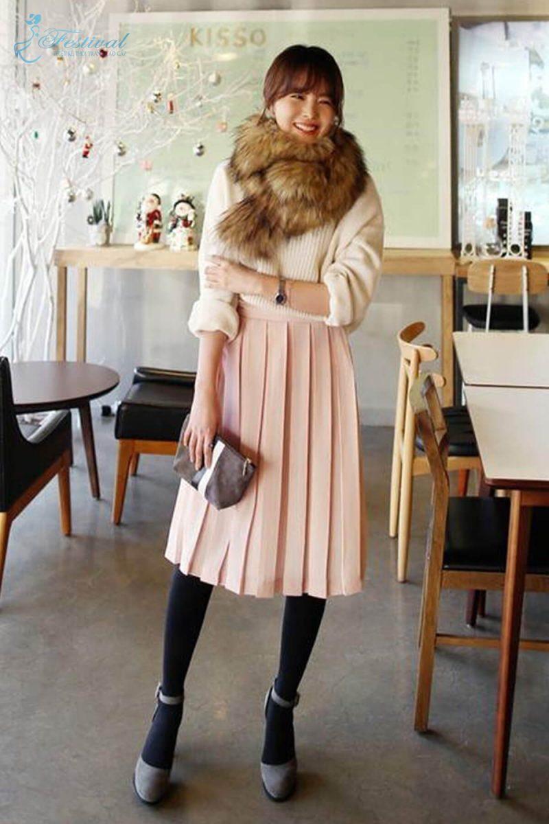 Mix đồ màu tươi sáng đi chơi Tết - Tết 2019 nên mặc gì? | Kiểu thời trang nữ tôn vinh phái đẹp - Ảnh 10