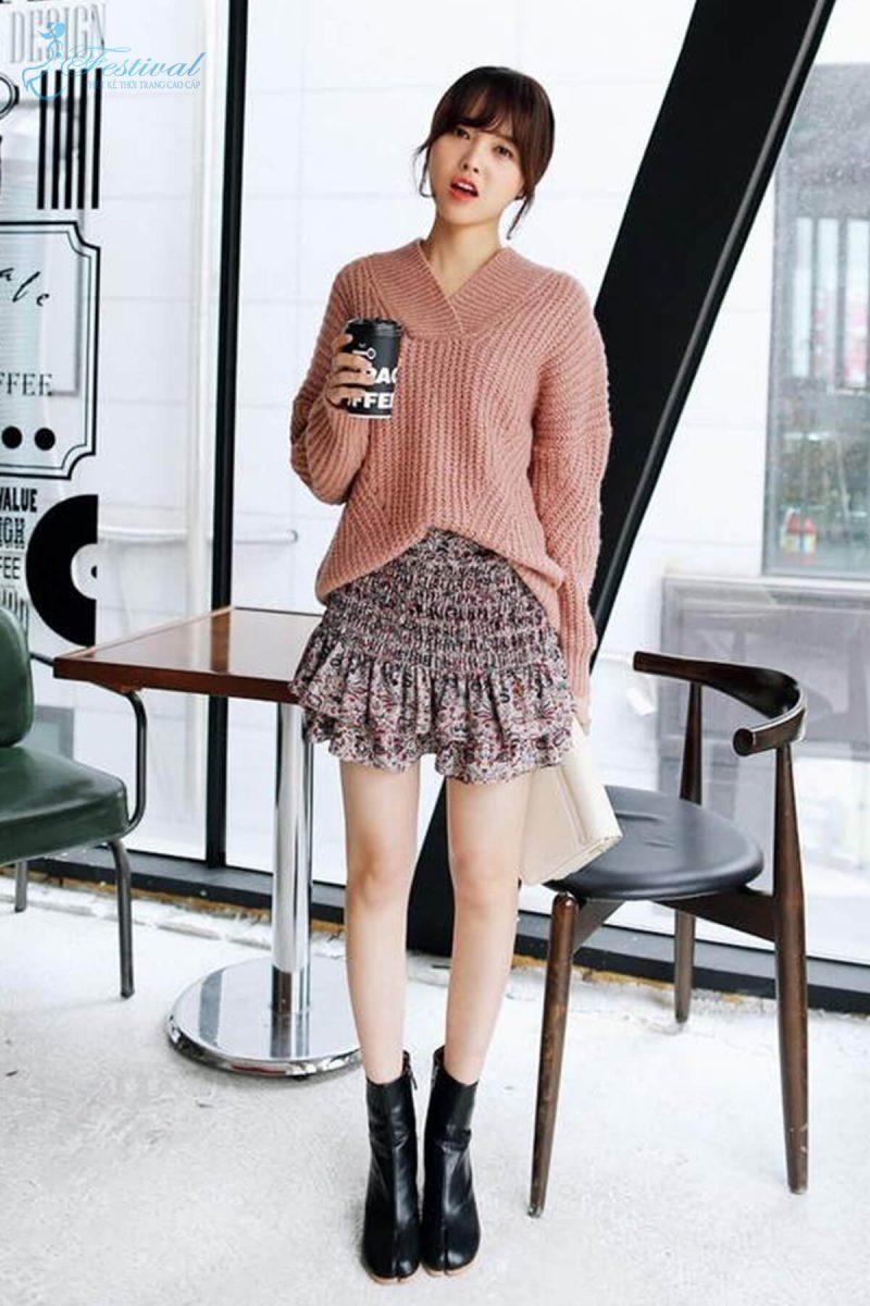 Mix đồ màu tươi sáng đi chơi Tết - Tết 2019 nên mặc gì? | Kiểu thời trang nữ tôn vinh phái đẹp - Ảnh 12