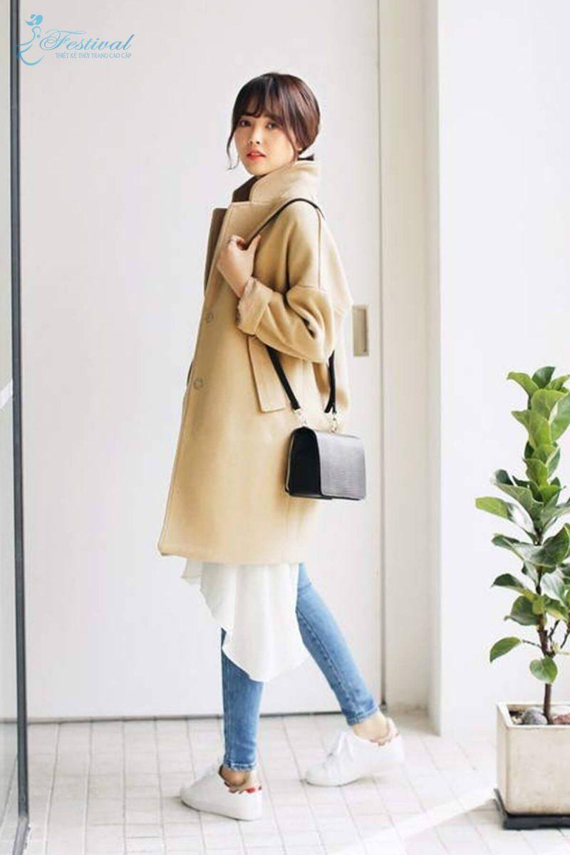 Mix đồ màu tươi sáng đi chơi Tết - Tết 2019 nên mặc gì? | Kiểu thời trang nữ tôn vinh phái đẹp - Ảnh 5