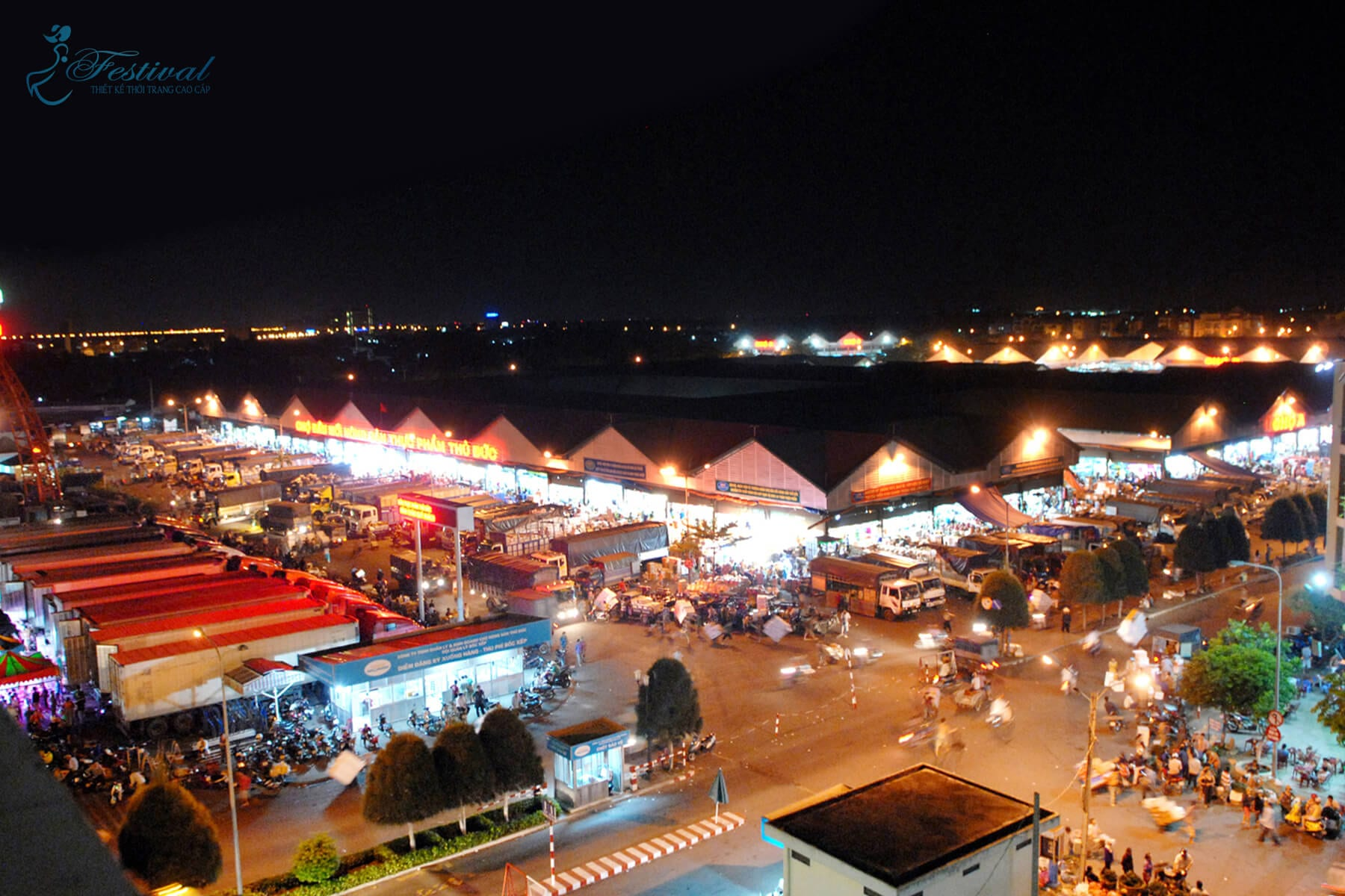 Chợ đêm Thủ Đức - Những địa điểm sắm đồ Tết lý tưởng ở Sài Gòn