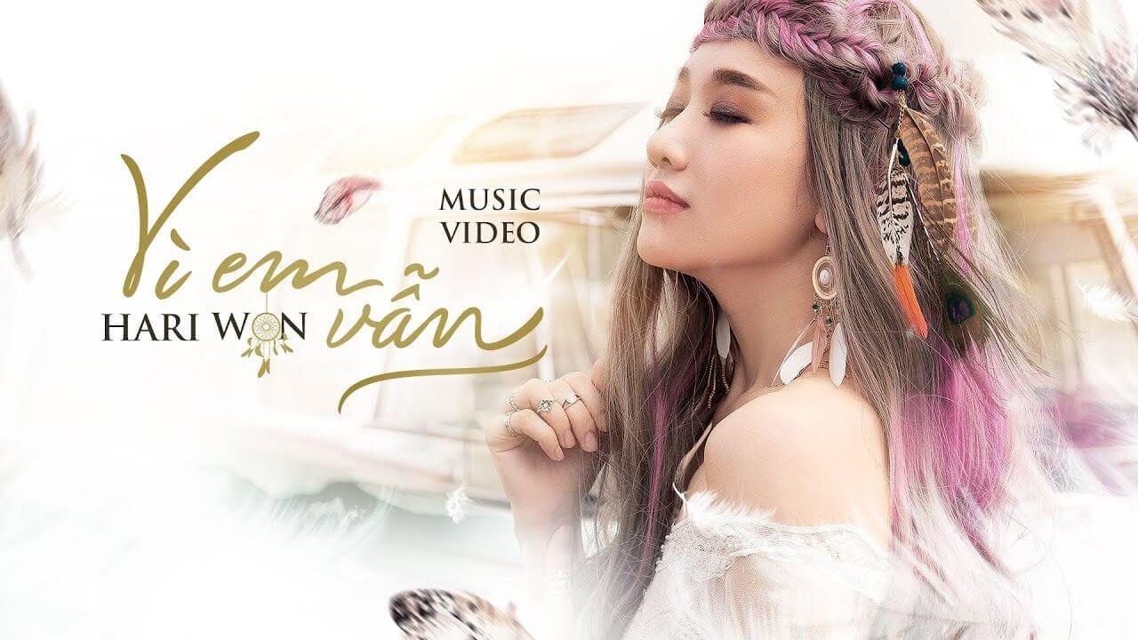 """Những kiểu thời trang ấn tượng trong MV """"Vì em vẫn"""" của Hari Won"""