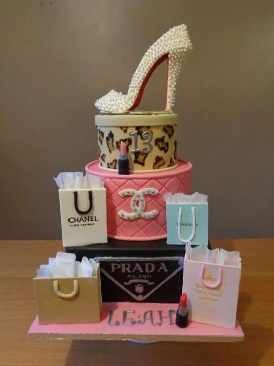 Bánh sinh nhật hình chiếc giày xinh xắn - Ảnh 2 - Thích thú với những mẫu bánh sinh nhật của tín đồ thời trang