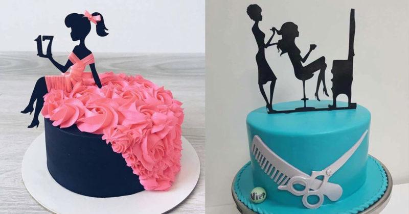 Thích thú với những mẫu bánh sinh nhật của tín đồ thời trang