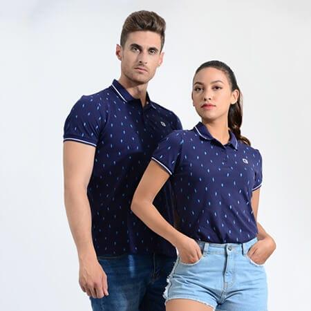 Áo polo cặp đôi - Ảnh 1 - Couple TX – Tổng hợp những kiểu thời trang dành cho cặp đôi
