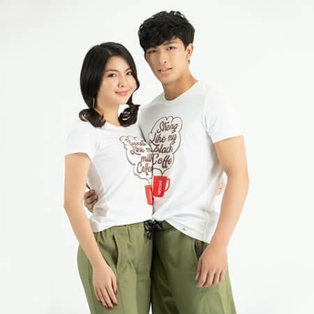 Áo thun cặp đôi - Ảnh 2 - Couple TX – Tổng hợp những kiểu thời trang dành cho cặp đôi