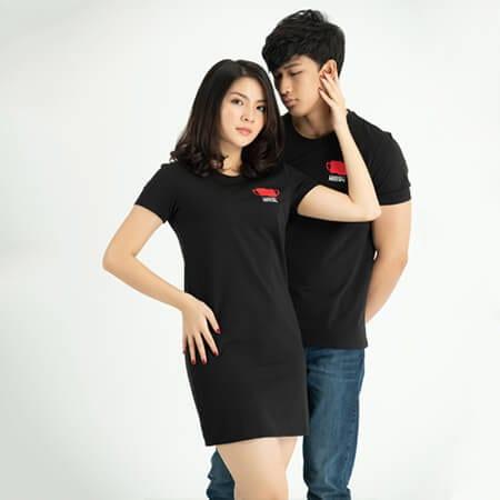 Áo thun cặp đôi - Ảnh 3 - Couple TX – Tổng hợp những kiểu thời trang dành cho cặp đôi
