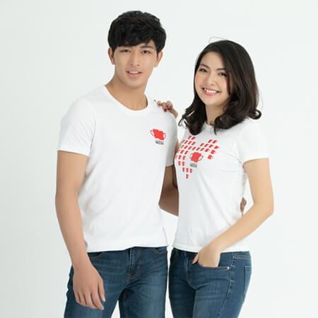 Áo thun cặp đôi - Ảnh 4 - Couple TX – Tổng hợp những kiểu thời trang dành cho cặp đôi