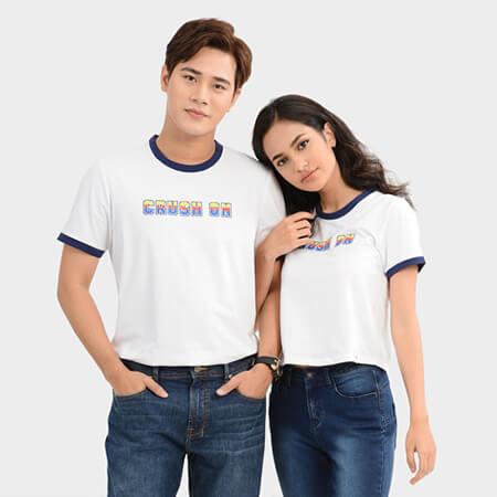 Áo thun cặp đôi - Ảnh 5 - Couple TX – Tổng hợp những kiểu thời trang dành cho cặp đôi