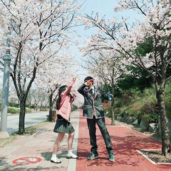 Trường Ngôn ngữ Quốc tế Chungnam - Ảnh 2 - Top 5 đồng phục học sinh Hàn Quốc sang chảnh giá đắt đỏ