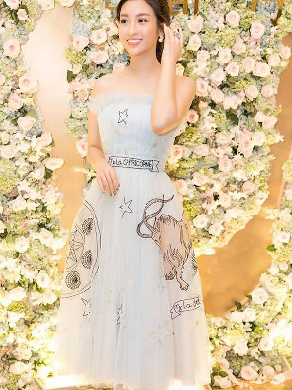 Váy tùng bồng xòe công chúa - Ảnh 4 - Đầm tua rua, váy công chúa - Hai 'vũ khí' lợi hại của sao Việt