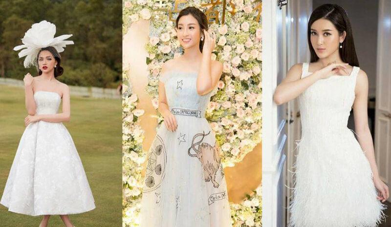 Đầm tua rua, váy công chúa - Hai 'vũ khí' lợi hại của sao Việt