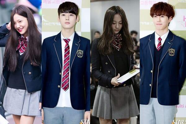 Trường trung học nghệ thuật Hanlim - Ảnh 1 - Top 5 đồng phục học sinh Hàn Quốc sang chảnh giá đắt đỏ