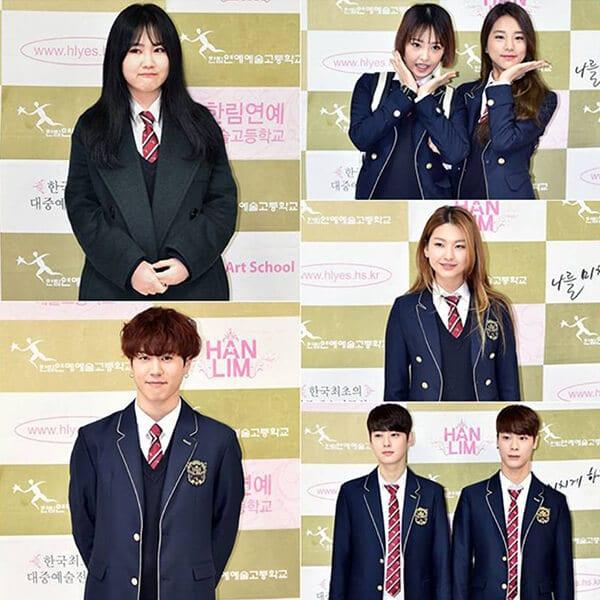 Trường trung học nghệ thuật Hanlim - Ảnh 2 - Top 5 đồng phục học sinh Hàn Quốc sang chảnh giá đắt đỏ