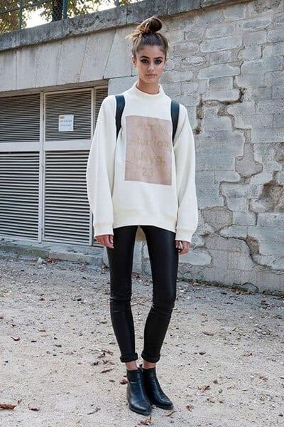 Hoodies oversize - 3 Kiểu áo Hoodie phổ biến nhất của phụ nữ