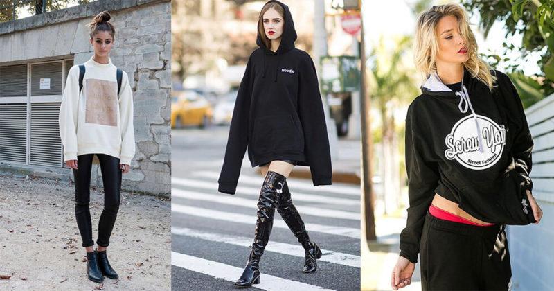 3 Kiểu áo Hoodie phổ biến nhất của phụ nữ